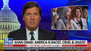 H7 tucker carlson ilhan omar boycott fox news racist comments