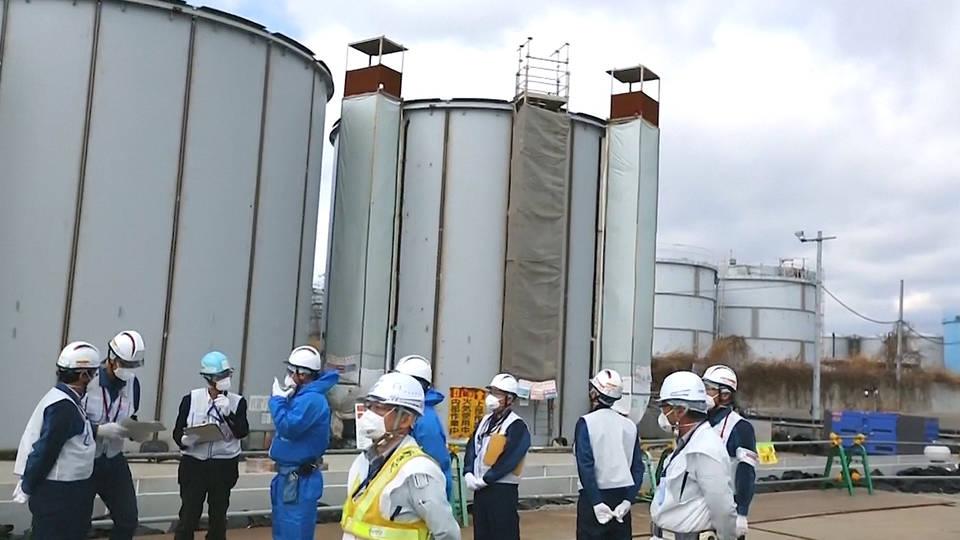H4 japan fukushima radioactive water pacific ocean