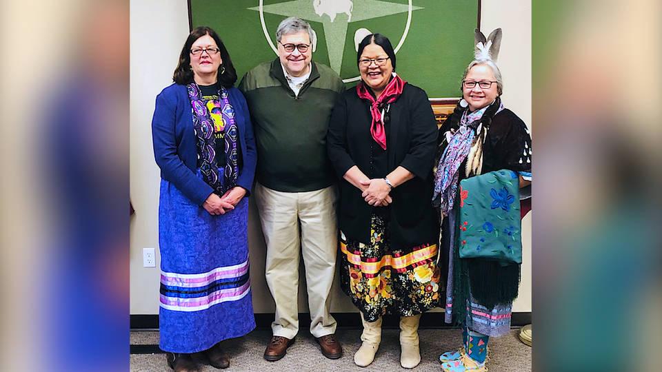 H13 william barr announces plan address crisis missing murdered indigenous women