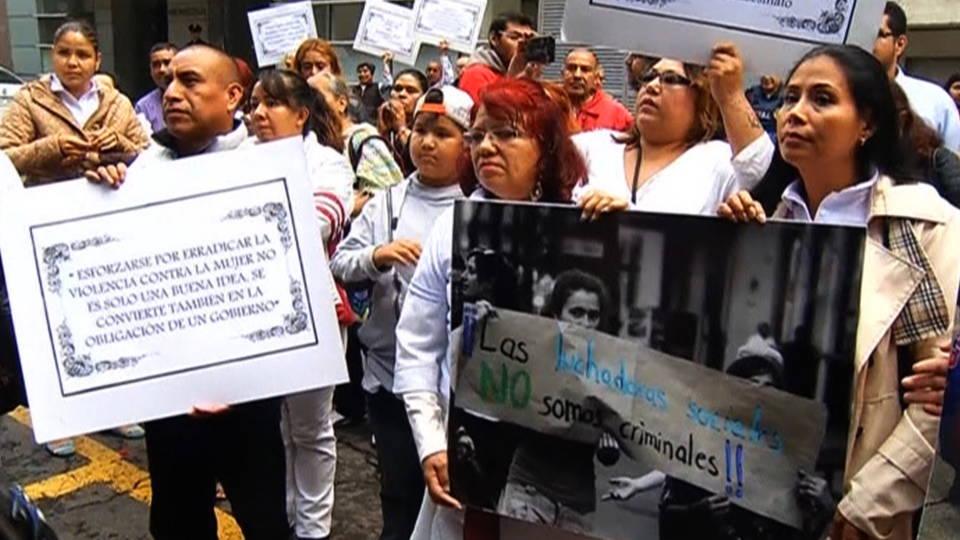 H13 women protest violence