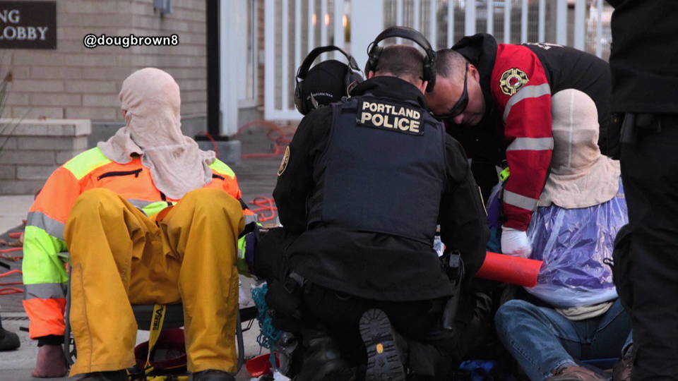h11 portland ice protest arrest