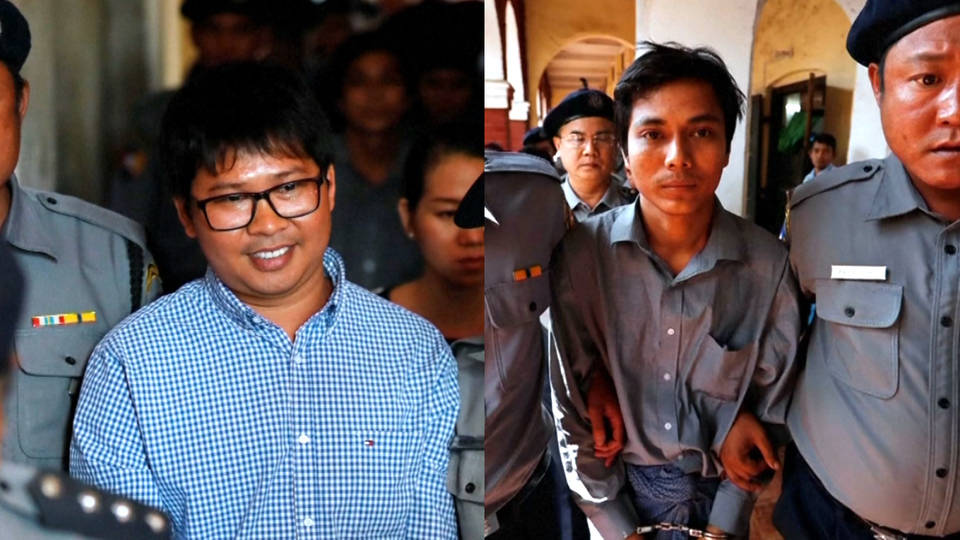 h09 journalists imprisoned for investigating burma military massacre