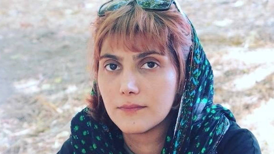 H7 activist journalist marzieh amiri iran sentenced prison lashes protests