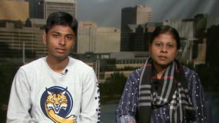 H15 salma sikandar wins asylum after husband hunger strike