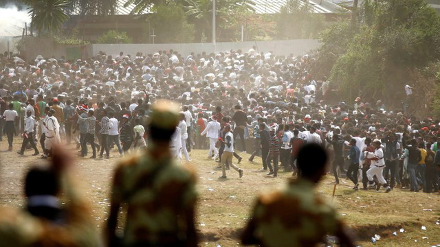 H11 ethiopia protest stampeded