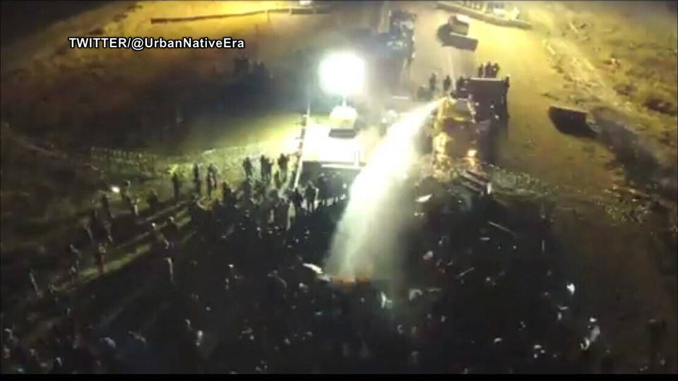 H08 standing rock water cannon