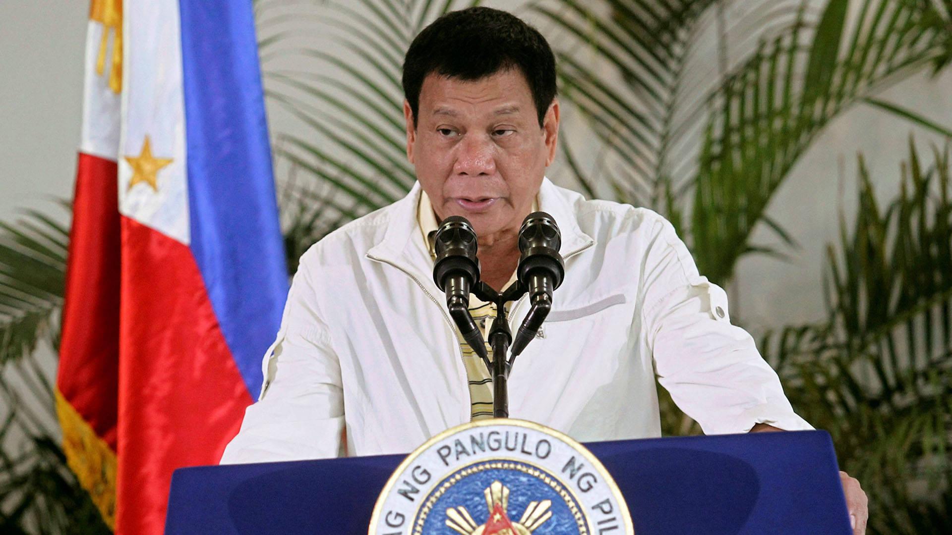 Resultado de imagen para guardia de la seguridad del jefe de Estado filipino, Rodrigo Duterte,encontrado muerto