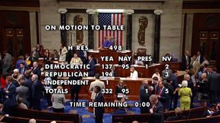 H1 house reps vote table trump impeachment resolution al green racist attacks ocasio cortez pressley omar tlaib