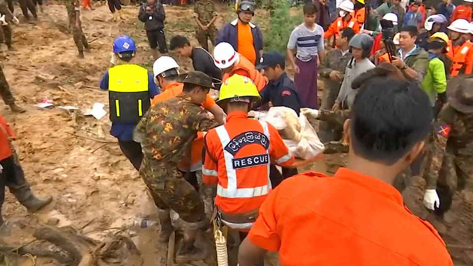H4 flooding landslides south southeast asia india burma monsoons