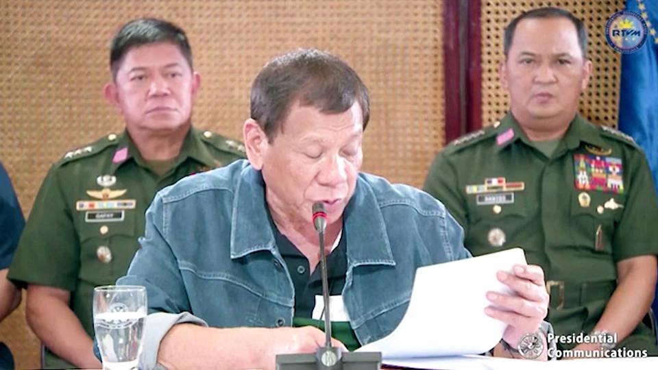 Philippine president tests negative for new coronavirus