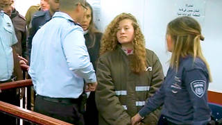 h11 ahed tamimi teenager israeli jail court