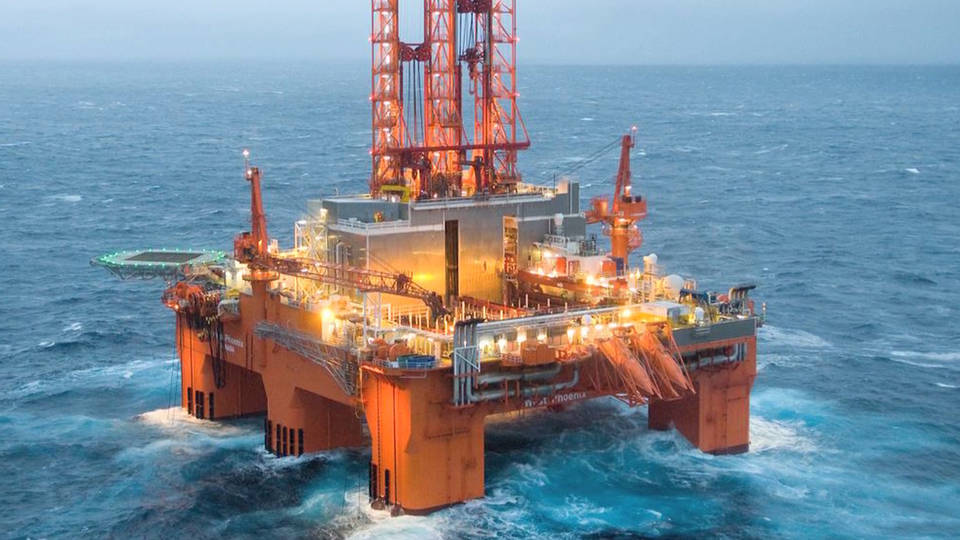 H5 offshore drilling