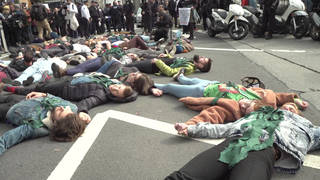 H14 nyc extinction rebellion die in protest arrests