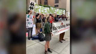 H17 biden protest new york city climate green new deal