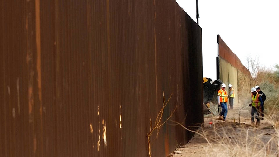 H6 defense budget funds border wall construction