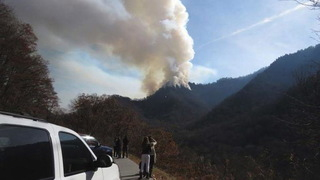 H13 tennessee smoky moutains fire
