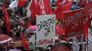 H10 temer protest