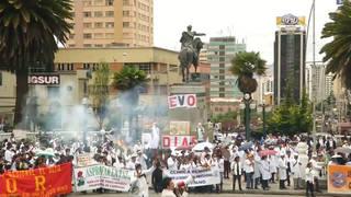 H7 bolivia protest