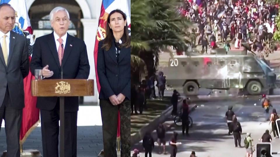 H2 chile un climate talks massive protests inequality president sebastian pinera apec