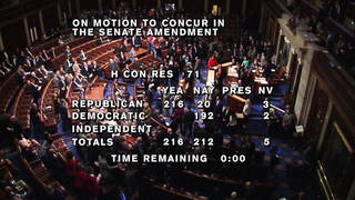 h02 congress votes tax cuts