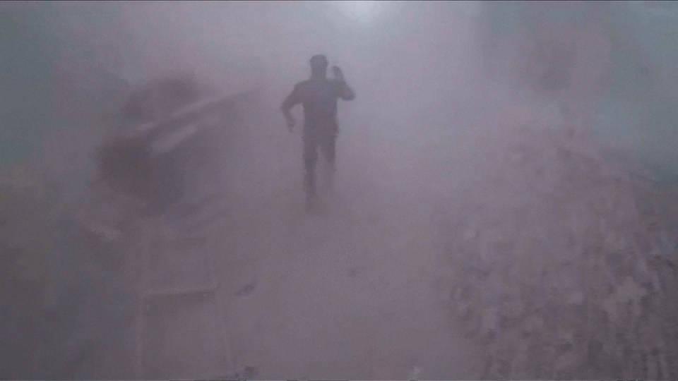 H5 ghouta airstrikes