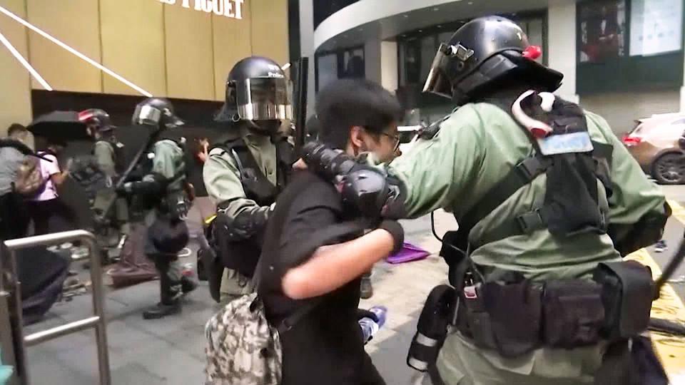 H12 hong kong major protests disruptions continue hong kong china