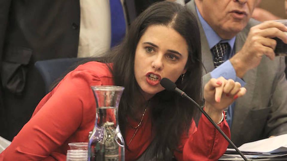 h07 ayelet shaked jewish majority over human rights