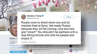 H1 trump russia syria twitter threat