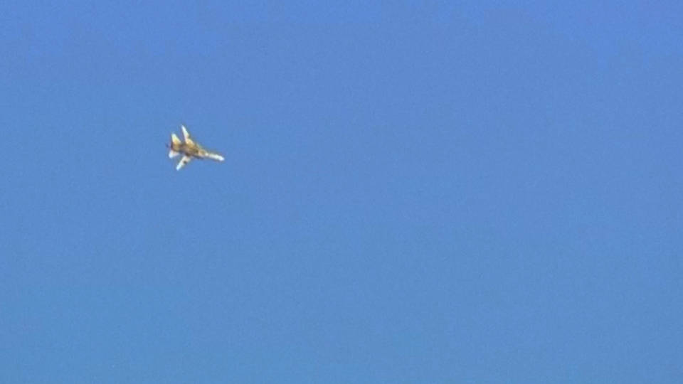 H6 israel shoots down syrian jet