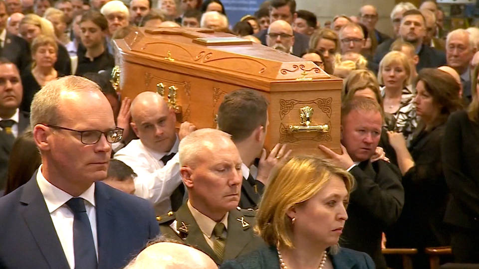 H11 lyra mckee funeral belfast northern ireland journalist killed