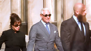 H10 as roger stone faces sentencing federal court trump hints at pardon