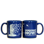 Blue Democracy Now! Mug