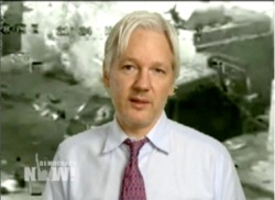 Democracy Now! interviews Julian Assange