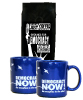 2 Mugs and Coffee (blue)