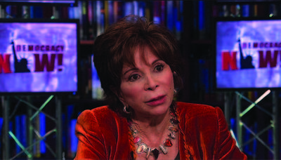 Democracy Now! interviews Isabel Allende