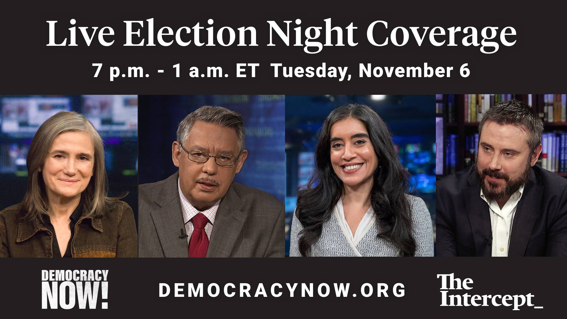 Election Wont End This Overnight But >> Watch Election Night 2018 Coverage With Democracy Now The