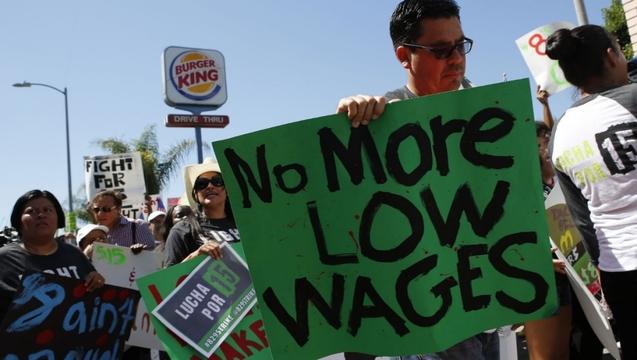 Fast foodworkerstrike