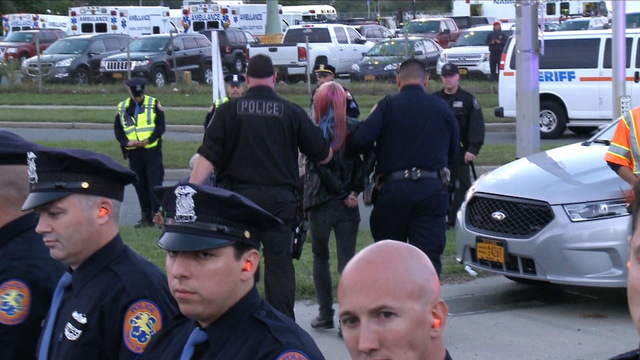 S1 hofstra protest arrests
