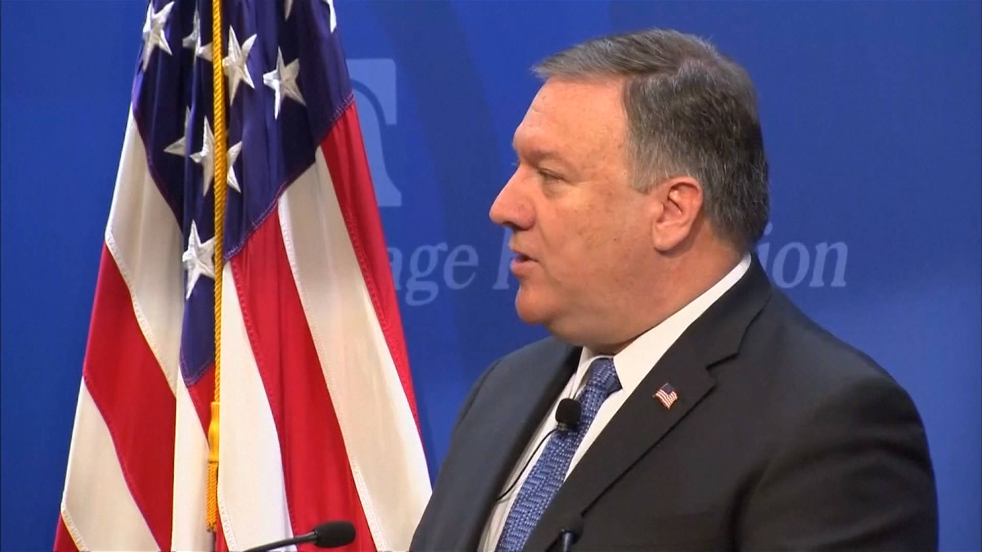 Pompeo Threatens Iran & Lays Out Unattainable Nuclear Requirements, Speeding U.S. March Toward War