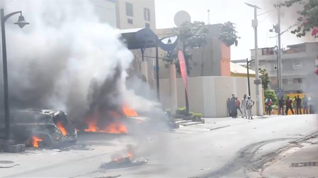 Seg haiti burning