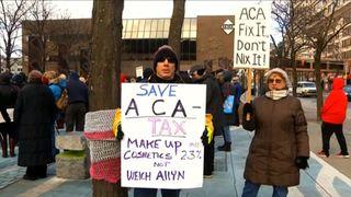 Aca protest