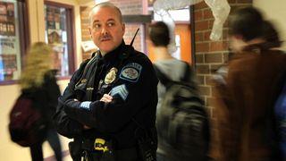 Police in school 2