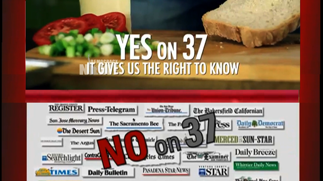 Prop 37 yes no