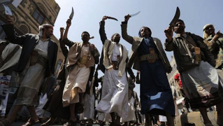Yemen houthi rebels fighters