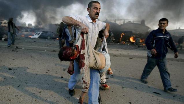 Iraq war dead child