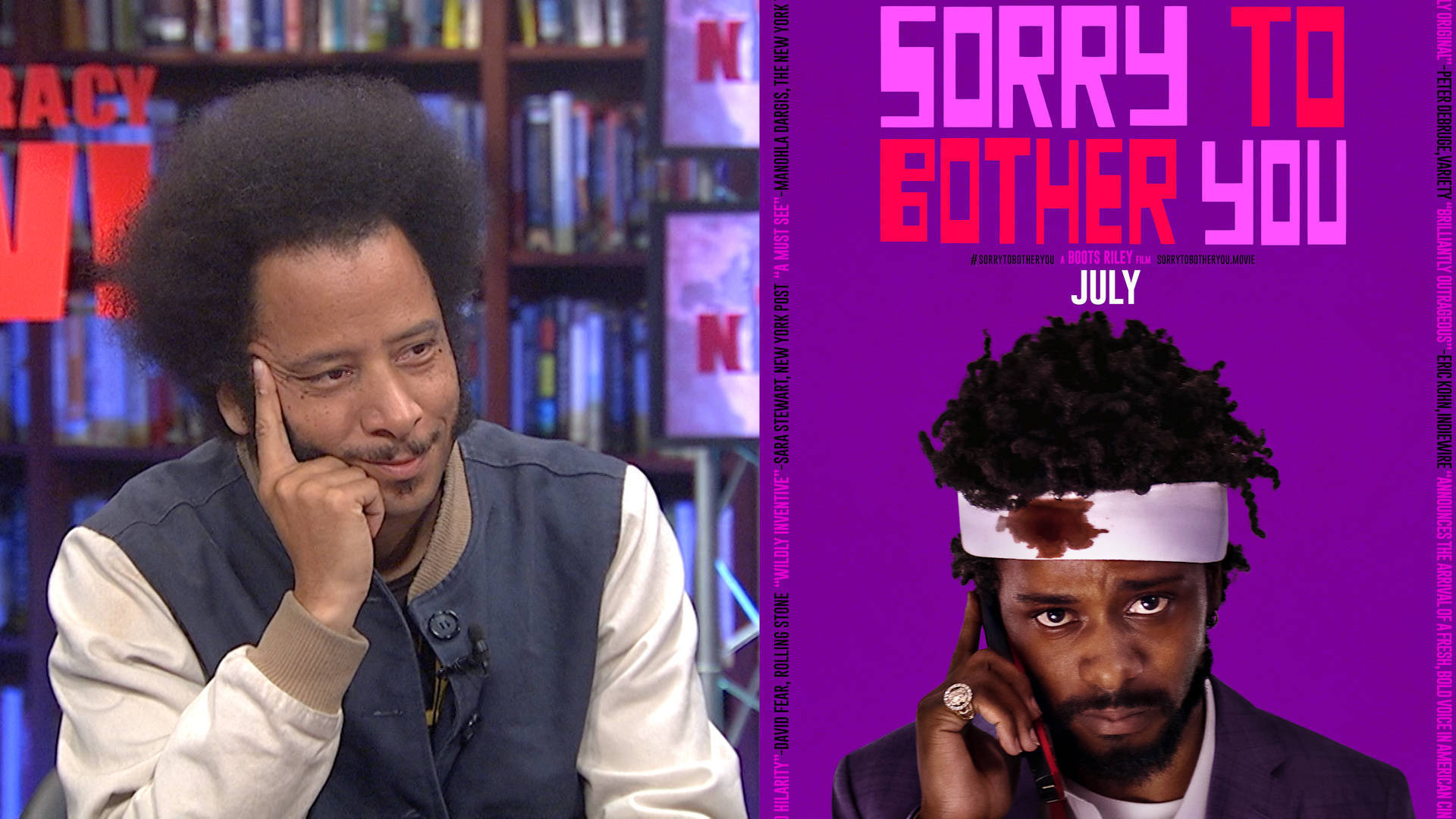 Boots Riley On His Anti Capitalist Film Sorry To Bother You