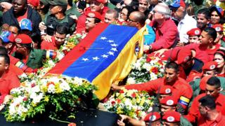 Chavez procession