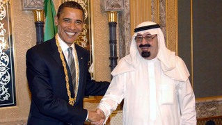 King abdullah saudi arabia obama