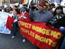 Indigenous march dn