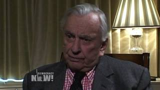Gore vidal democracy now ok